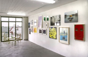 Abbildung von Ausstellungsansicht Atelierhaus Speicher II