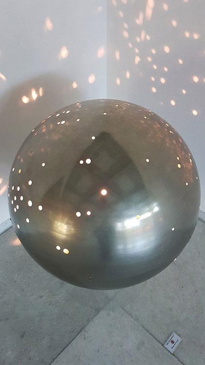 Otto Piene. Metallisches Licht